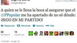 Sigfrid Soria presume en Twitter: ¡Sigo en mi