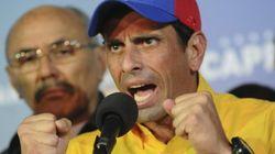Capriles convoca una cacerolada para exigir un recuento voto a