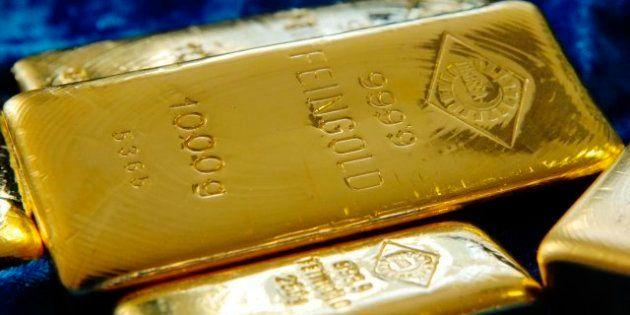 Sin refugio de referencia: El precio del oro se desploma y cae un 20% desde agosto de