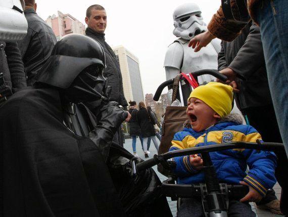 Elecciones Ucrania 2014: Darth Vader, a la conquista de la Rada (VÍDEO,