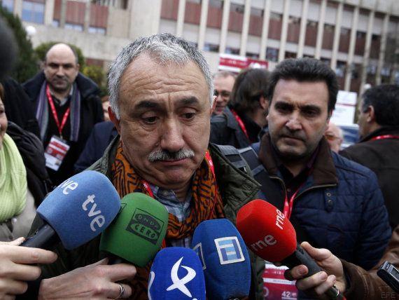 Josep Maria Álvarez, elegido secretario general de UGT en sustitución de Cándido Méndez con el 51,1%...