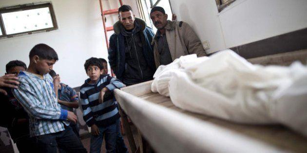 Dos niños, hermanos de 6 y 10 años, mueren en Gaza por un bombardeo de