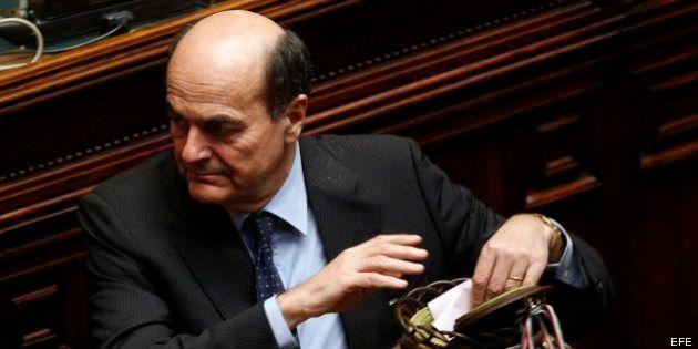 Bersani dimitirá como líder del Partido Democrático tras la elección del presidente de la