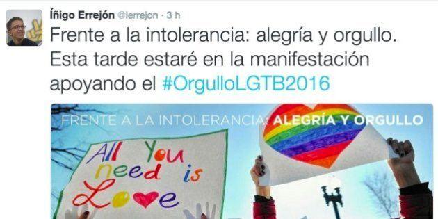 Políticos y famosos celebran el Orgullo Gay en redes