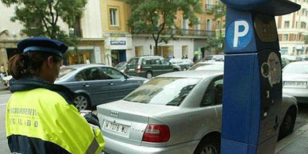 Madrid limita este miércoles el aparcamiento a los no residentes por la