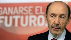Rubalcaba: ¿Cómo se atreve Rajoy a pedir