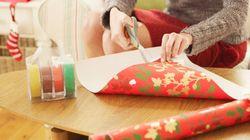 Este truco de Papá Noel servirá de inspiración a quienes no se les da bien envolver