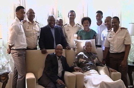 Primeras fotos de Mandela tras su última salida del hospital