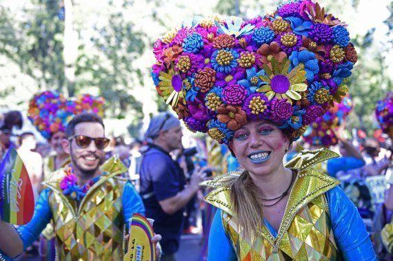 Cerca de un millón de personas celebran el Orgullo LGTB en