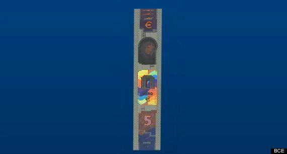 Nuevo billete de cinco euros: El BCE pone este jueves en circulación un nuevo diseño