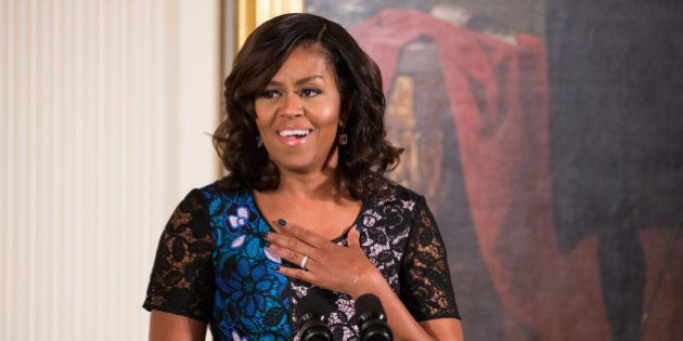First Lady Michelle Obama welcomed the 2016 National Arts and Humanities Youth Program (NAHYP) Awardees...