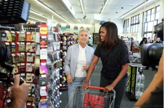 Michelle Obama ha estado espectacular en