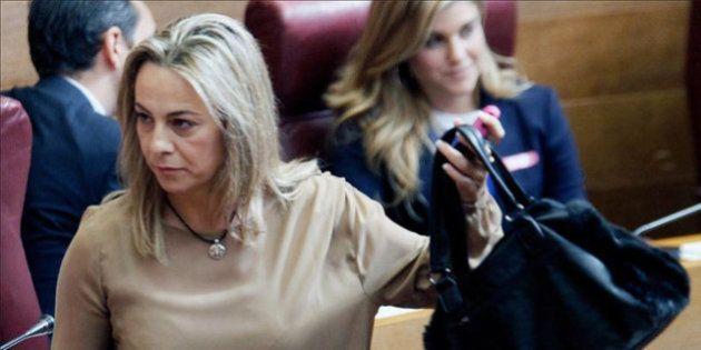 Sonia Castedo, imputada en el caso Brugal, deja su acta como diputada en Les