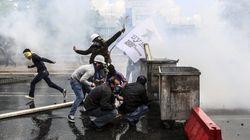 Batalla campal en Estambul entre policía y manifestantes