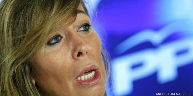 Sánchez-Camacho celebra el mensaje del rey sobre consensos pero pide al PSOE que cambie su