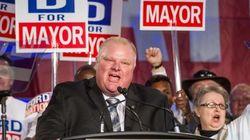 El alcalde de Toronto ingresa en un centro de