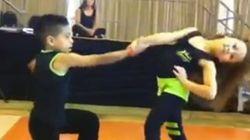Nunca has visto a unos niños bailar salsa ASÍ