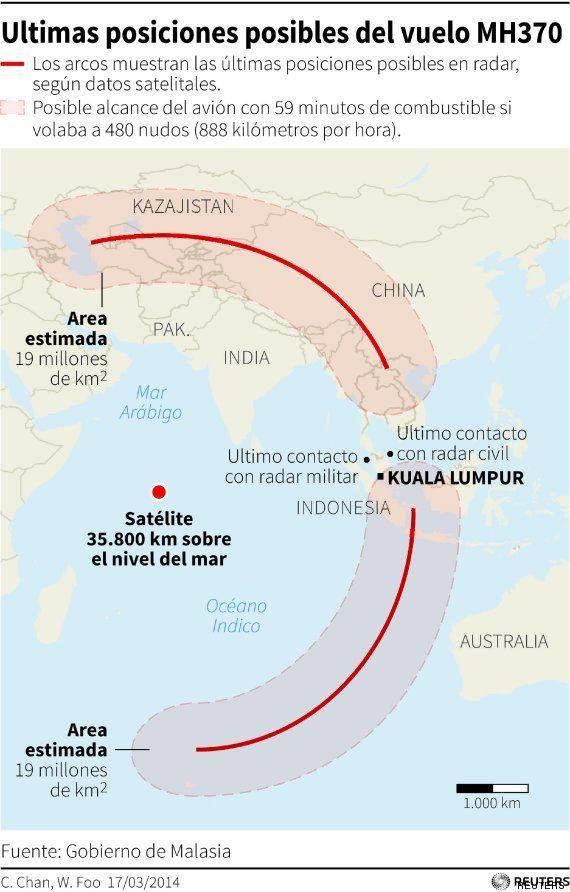 9 enigmas del avión de Malasia vistos por los