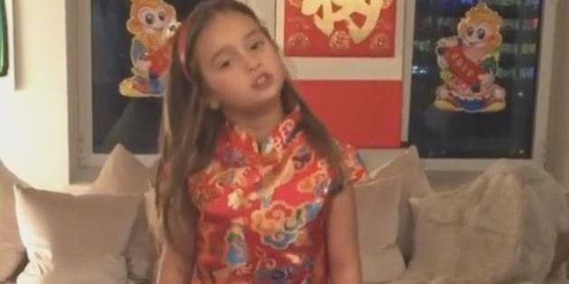 El vídeo de la nieta de Trump hablando en chino que no podrás dejar de