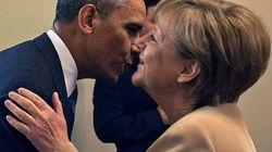 Obama y Merkel avisan de más sanciones a