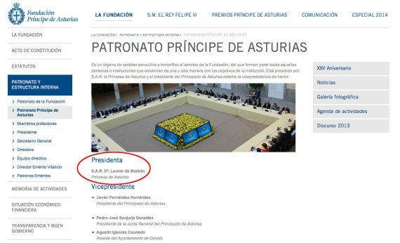 Los Premios Príncipe de Asturias se rebautizan por Leonor: en 2015, Premios Princesa de