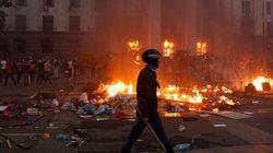 Al menos 38 muertos en un incendio en los enfrentamientos de