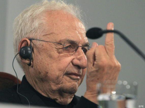 La peineta de Frank Gehry: la reacción del premio Príncipe de Asturias de las Artes (FOTOS,