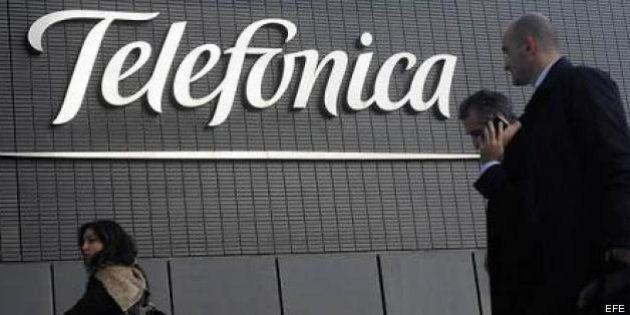 Telefónica gana en el primer trimestre de 2013 un 20,6% más que en el mismo periodo del año