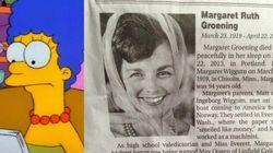 Muere la mujer que sirvió de inspiración para Marge