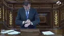 Rajoy se dirige al presidente del Gobierno