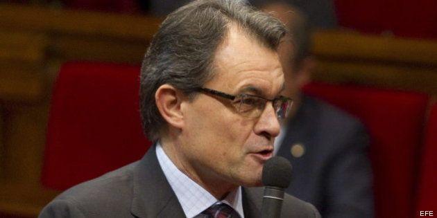 Reacciones a la suspensión de la declaración catalana: Mas y ERC apuestan por seguir con el proceso