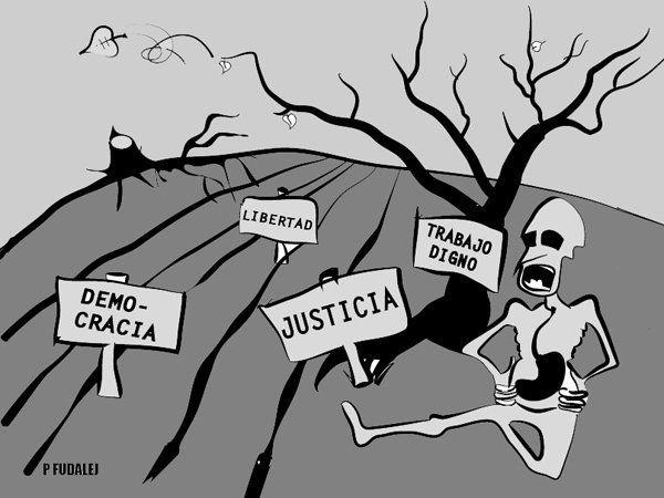 Hambre de Justicia: 29 días de
