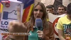 TVE, en apuros para informar de la huelga desde Barcelona