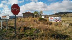 Miles de personas se movilizan contra una mina en la Sierra de