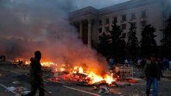 Kiev acusa a la policía de no impedir el incendio en