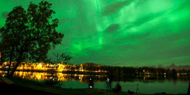 Se busca aurora boreal: el secreto de las luces del