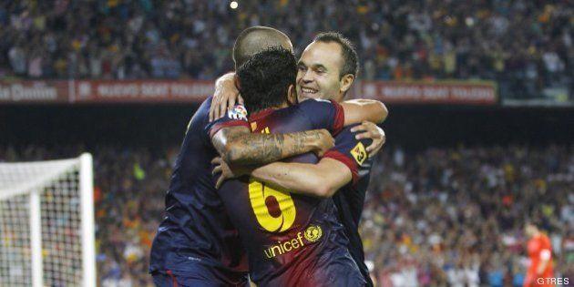 Los goles del Barcelona para ganar la Liga 2012-2013