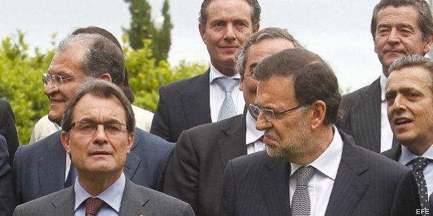 Rajoy asegura ante Mas que España es un