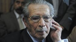 Condenado a 80 años de cárcel el dictador de Guatemala Ríos