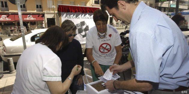 Más de 920.000 votantes participaron en la consulta por la sanidad pública de la Comunidad de