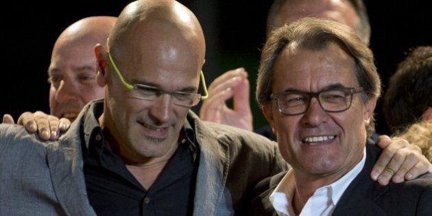 Elecciones 27-S en Cataluña: 'Junts pel Sí' gana las elecciones pero Mas depende de la