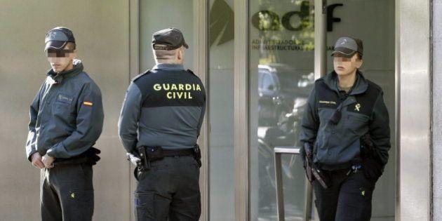 La Guardia Civil registra Adif por un supuesto delito de malversación en las obras del