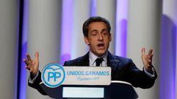 Sarkozy se atreve con el castellano y el catalán