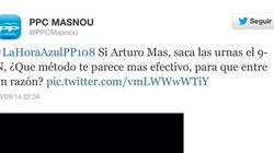 CiU envía una carta al PP para protestar por este tuit que