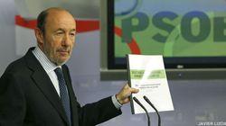 Rubalcaba envía a Rajoy su propuesta para un