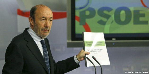 Rubalcaba enviará a Rajoy sus propuestas para un