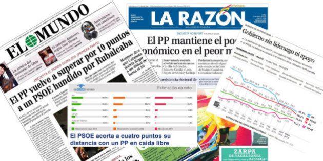 PP y PSOE quitan importancia a las encuestas que reflejan su caída: