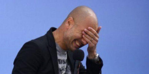 El curioso detalle del Manchester City con Pep Guardiola en redes