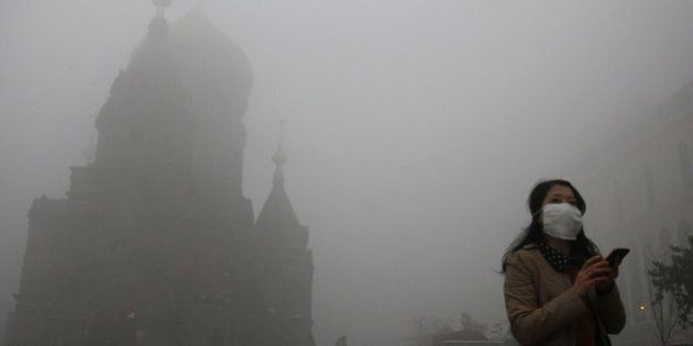 La contaminación en China paraliza varias ciudades: