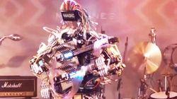 Esta banda de robots es capaz de tocar notas imposibles para el